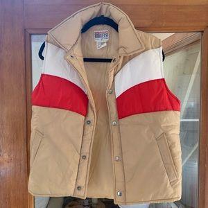 🧿vintage puffy vest